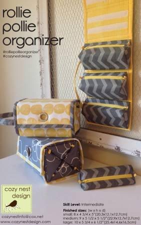 Rolie Polie Organizer Pattern by Cozy Nest Design