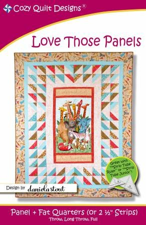 Love Those Panels Pattern by Cozy Quilt Designs