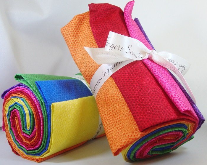 Dimples Rainbow Fat Quarter Bundle