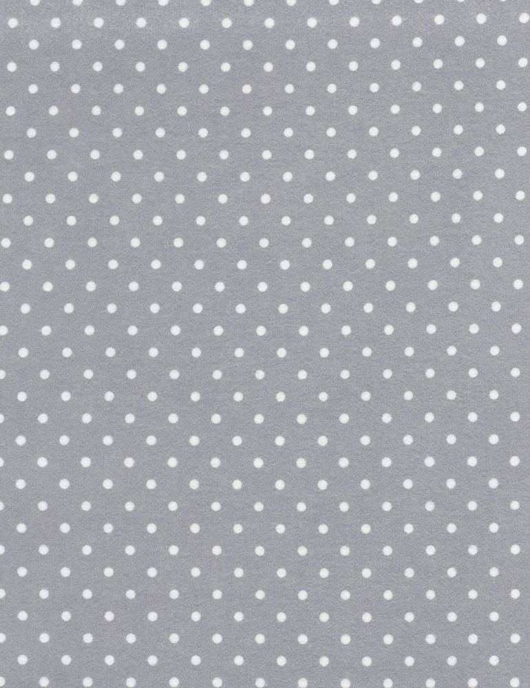 Little Star Flannel (Dot) CF1820-GREY