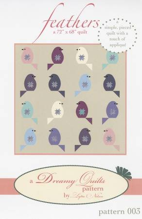 Feathers Pattern by Dreamy Quilts