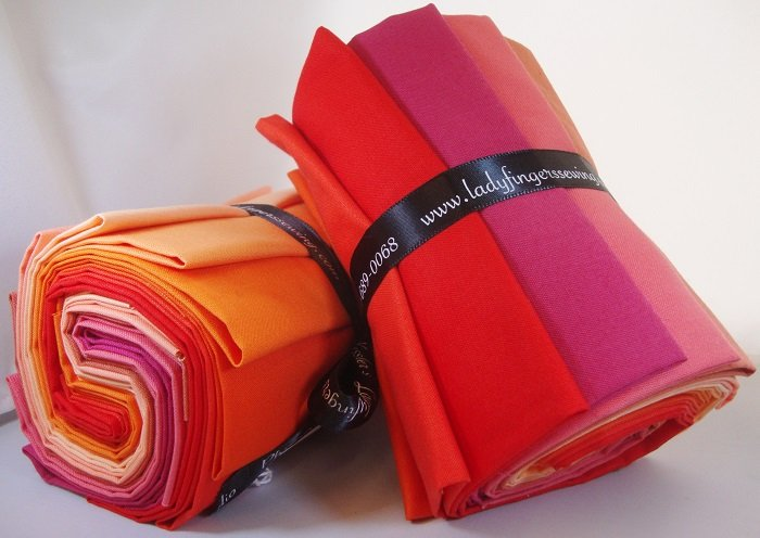 Designer Solids Gradation - Peach / Orange