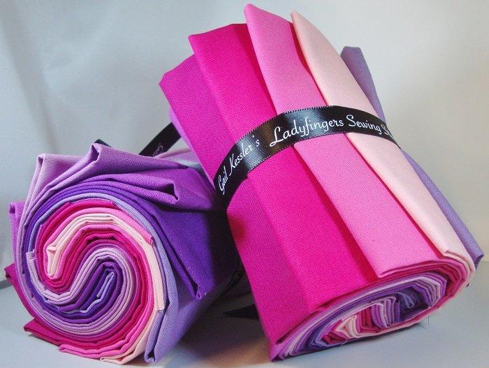 Designer Solids Gradation - Pink / Purple