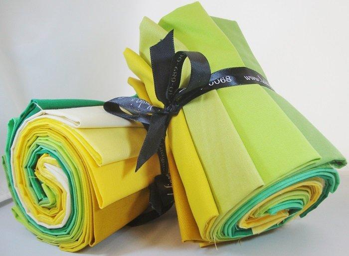 Designer Solids Gradation - Yellow / Green