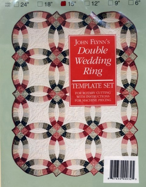 Template Set Double Wedding Ring 15in