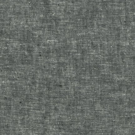 Essex Linen - Yarn Dyed - Black E064-1019