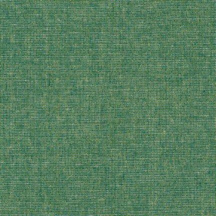 Essex Linen - Yarn Dyed Metallic - Emerald E105-1135