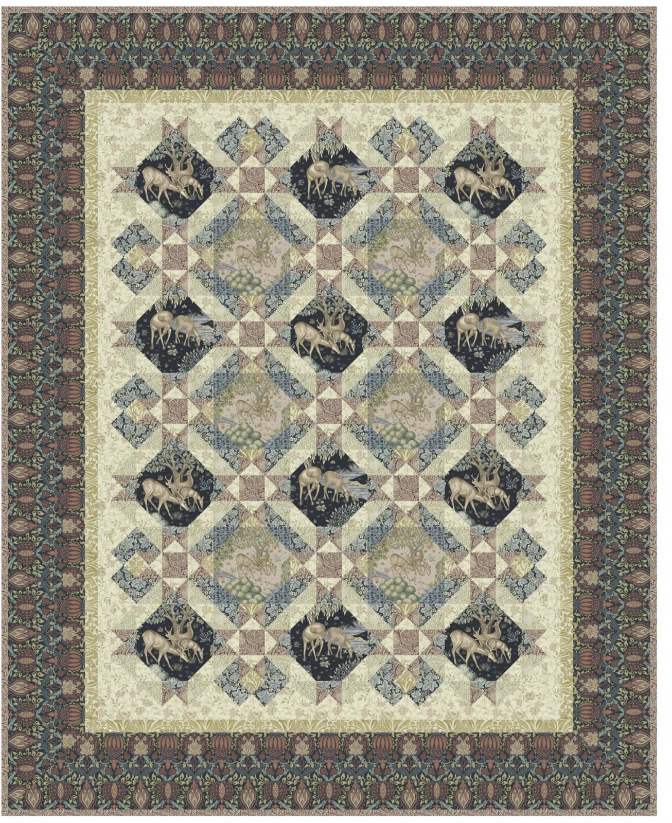 Earthly Treasures Quilt Pattern Download