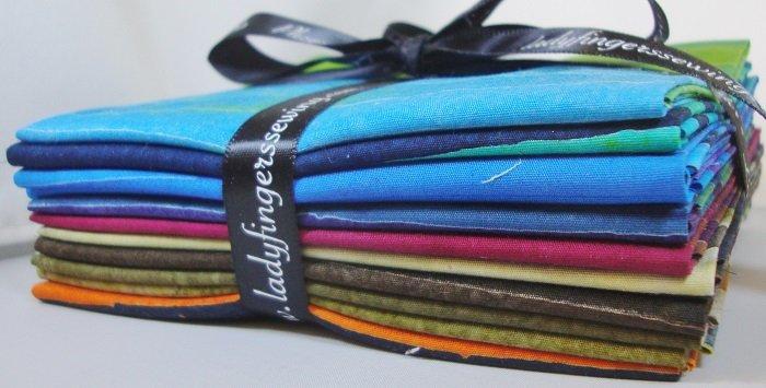 Artisan Batiks: Elementals Fat Quarter Bundle - Darks