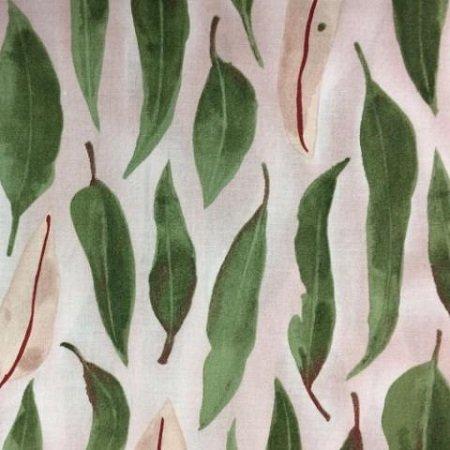 Aboriginal Eucalyptus Leaves Green