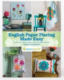 GO! English Paper Piecing Made Easy Pattern Book by Katjja Marek