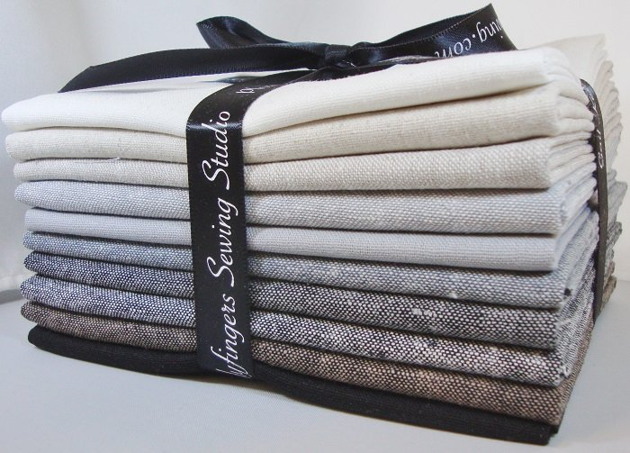 Essex Linen Fat Quarter Bundle - Neutrals