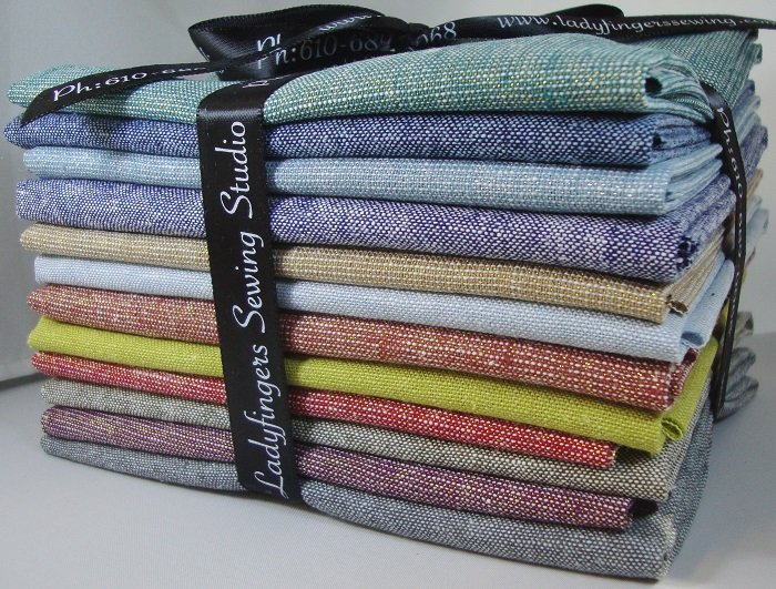 Essex Linen Fat Quarter Bundle - Colors