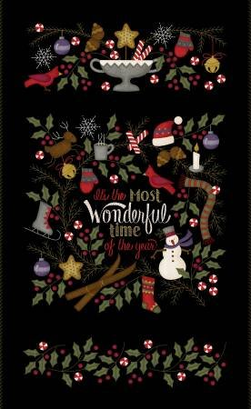 Most Wonderful Time Flannel 27 Panel F2910-J