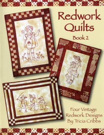 Redwork Quilts Book 2