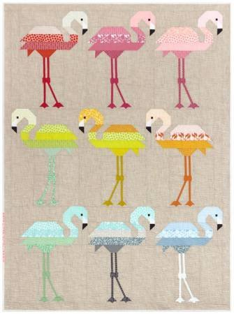 Quilt Backing -  Florence Flamingo Quilt