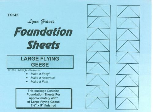 Flying Geese Foundation Sheets