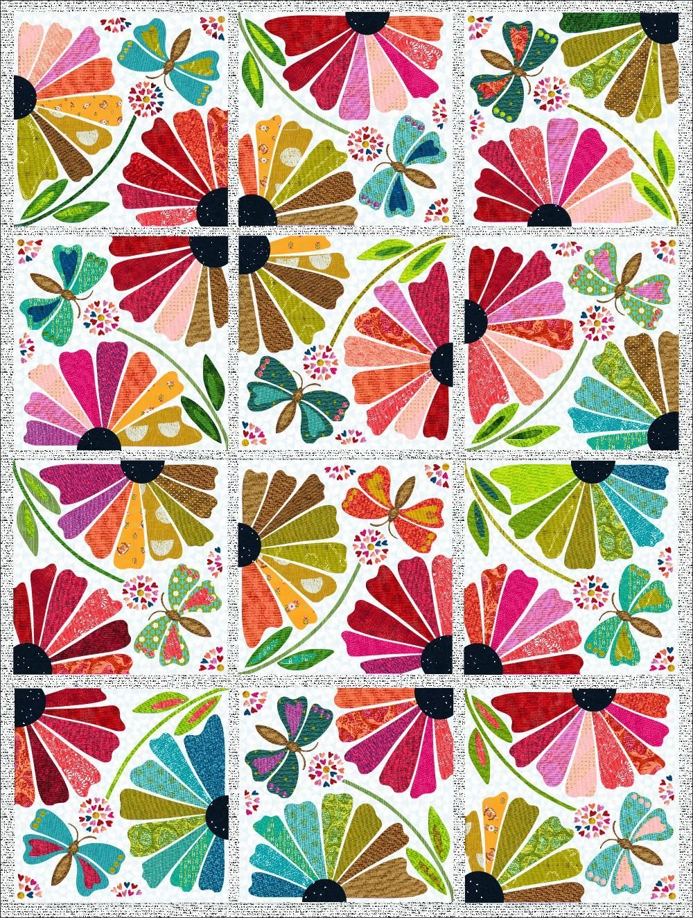 Garden Party Block of the Month