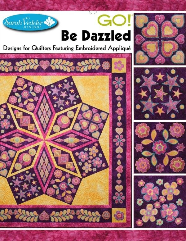GO! Be Dazzled Embroidery CD by Sarah Vedeler