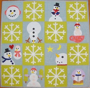 GO! Snow Much Fun Wall Hanging Quilt Kit