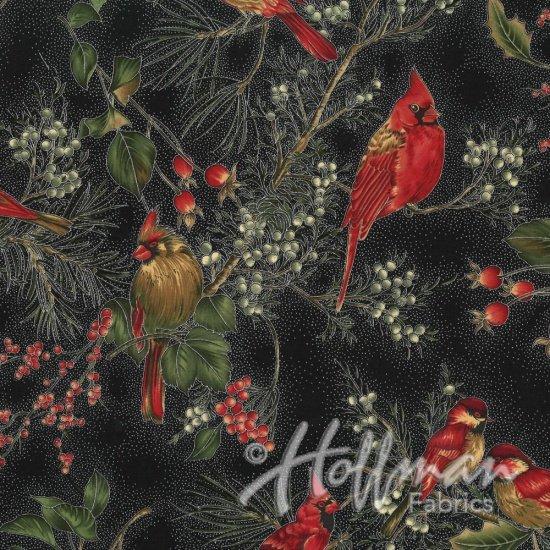 Cardinal Carols - Winter Magic Onyx/Silver H8821-213S