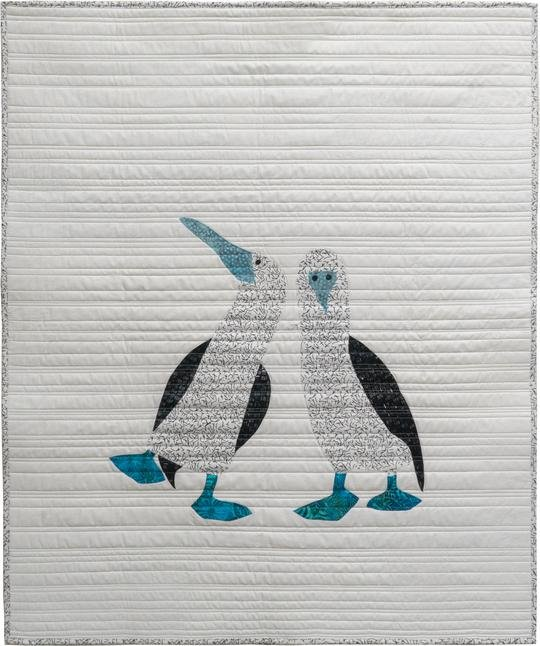 Blue Footed Booby Quilt Kit