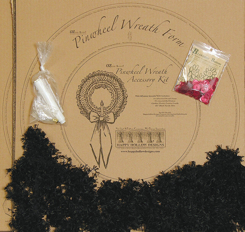 Pinwheel Holly Wreath Accessory Kit