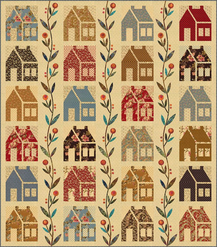 Homestead Pattern by Laundry Basket Quilts