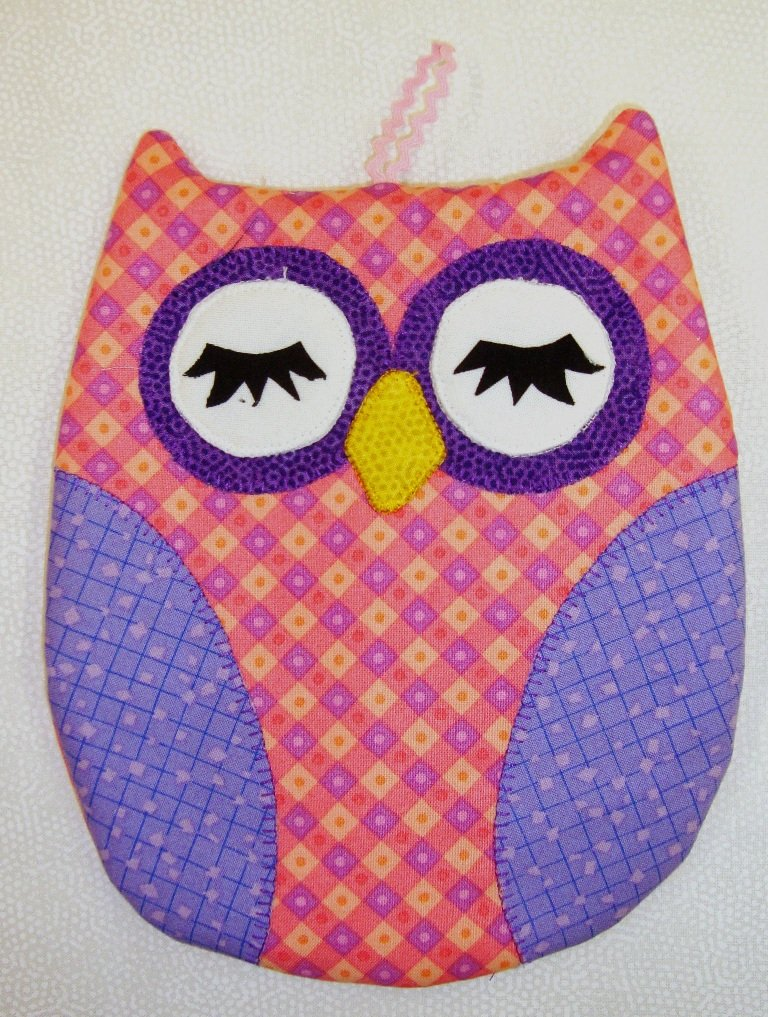 Hot Who - Owl Hot Pad -  Pink Kit