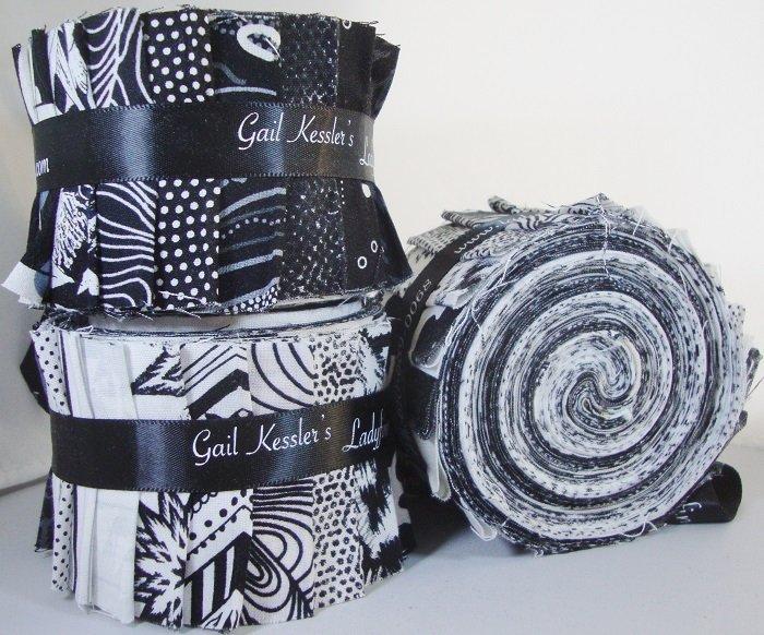 Black & White Half Strip Roll (20)  2-1/2 Strips