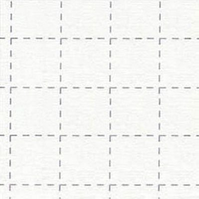 Quilt Block Fuse 2 Grid - White