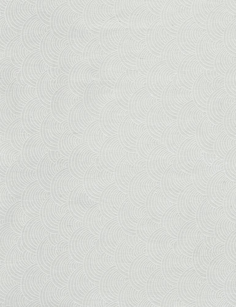 Hue C5142-WHITE (Scallop Waves)