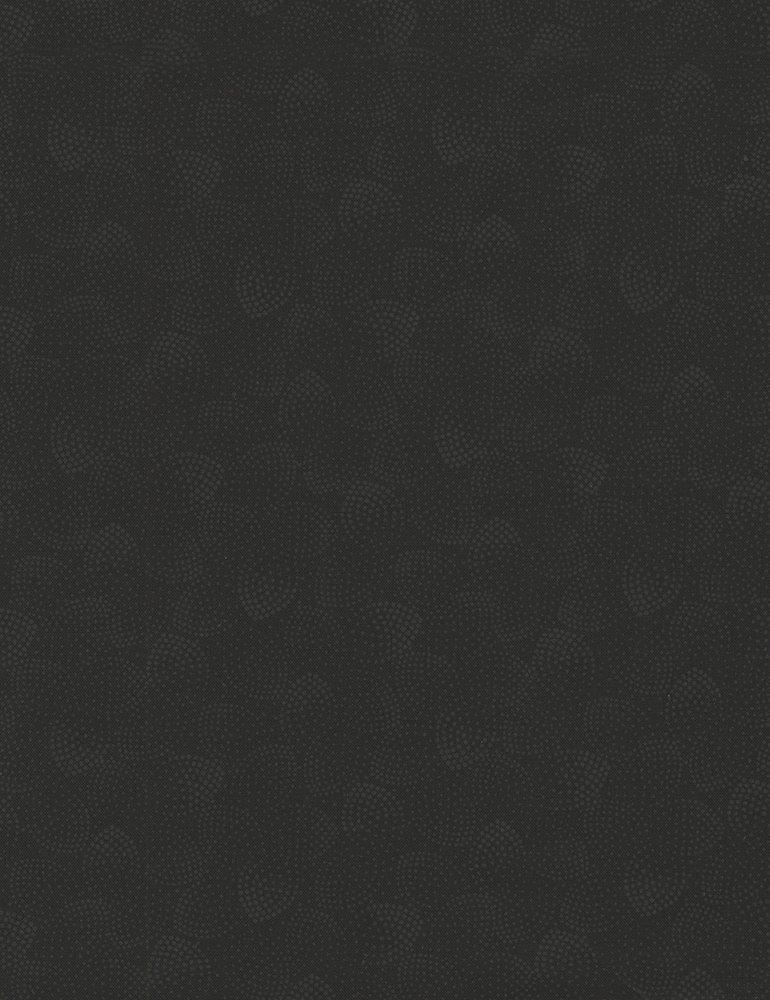 Hue C5148-BLACK (Dotty Leaves)