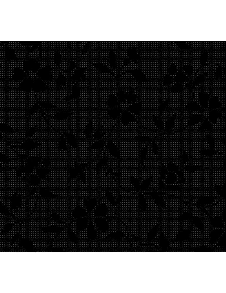 Hue C7094-BLACK (Delicate Flowers)