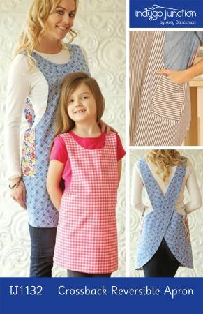 Crossback Reversible Apron Pattern by Indygo Junction
