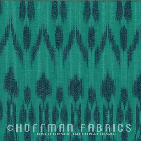 Indah Ikat - Hand Dyed and Hand Loomed Storm IKAT9-147