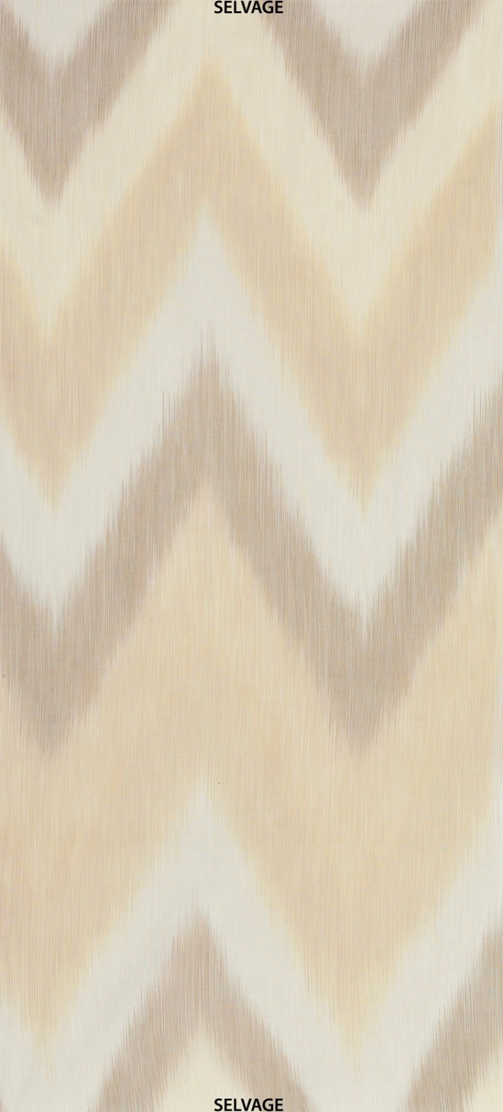 Ikat Basics Cream [Selvedge to Selvedge] C4748-CREAM