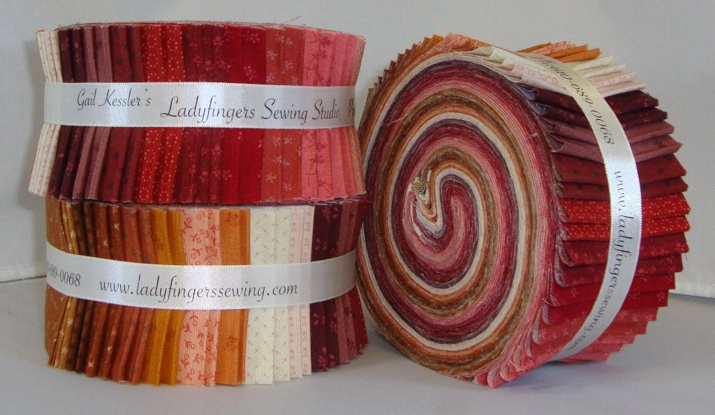 Itsy Bits Strip Roll - Reds & Oranges