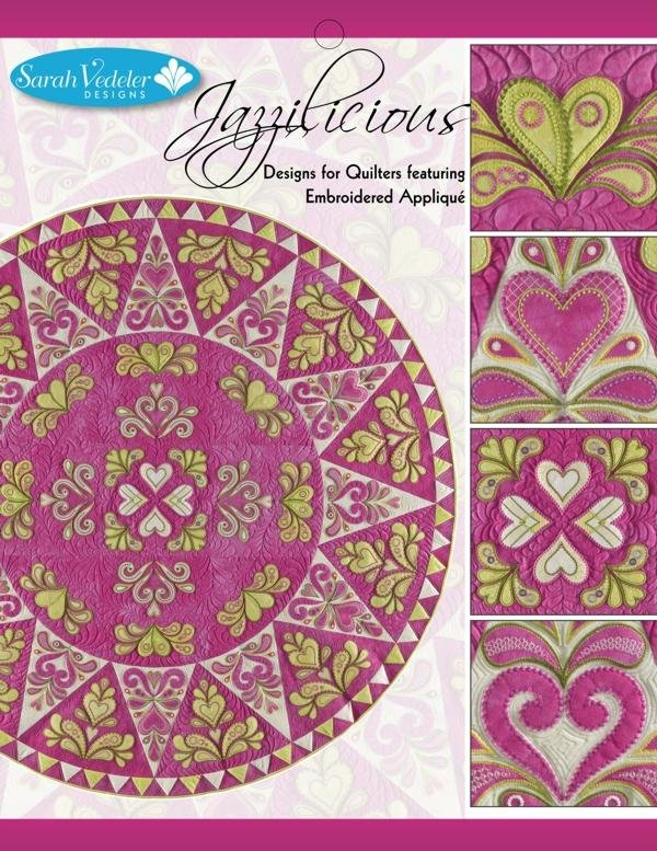 Jazzilicious Embroidery CD by Sarah Vedeler