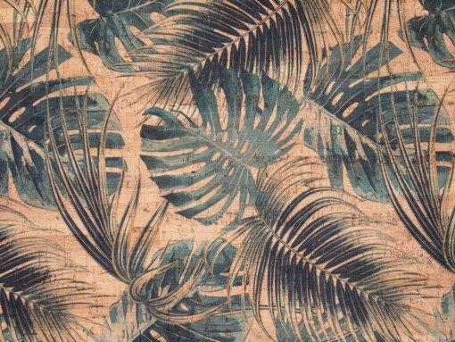 1/2 Yd Printed Cork Fabric Pre-Cut