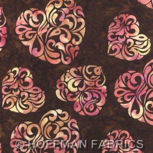 Hearts Havana - Hoffman Batik K2443-253