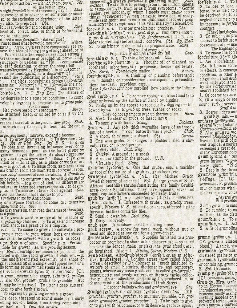 Dictionary C5258-CREAM