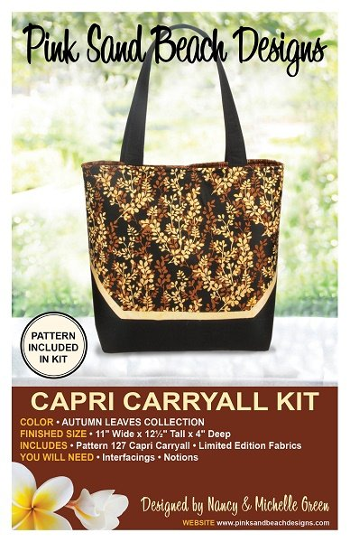 Capri Carryall Kit - Autumn Leaves