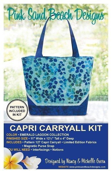 Capri Carryall Kit - Emerald Lagoon