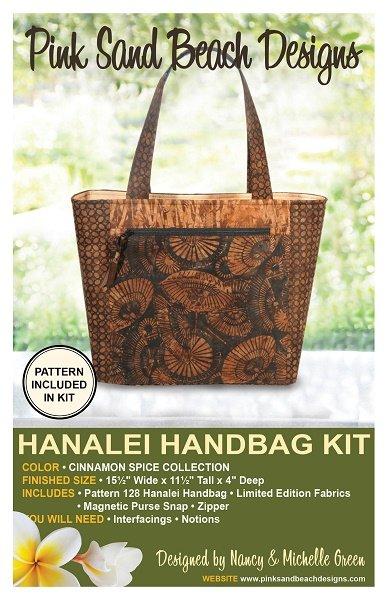 Hanalei Handbag Kit - Cinnamon Spice