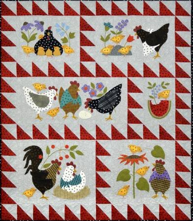Here A Chick, There A Chick Pre-Cut Quilt Kit
