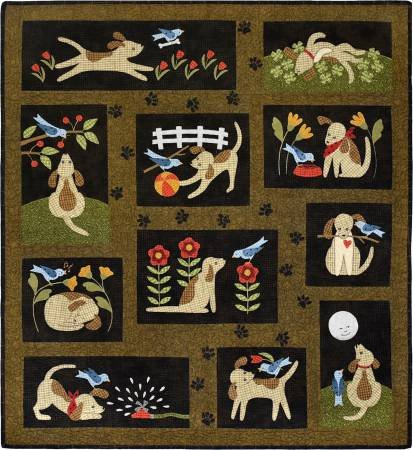 You Lucky Dog Pre-Cut Quilt Kit