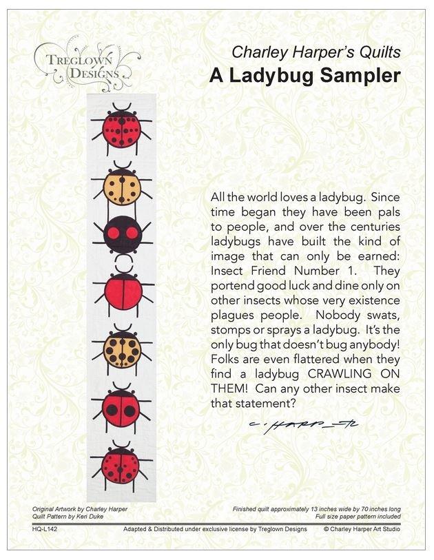 A Ladybug Sampler by Charley Harper's Quilts