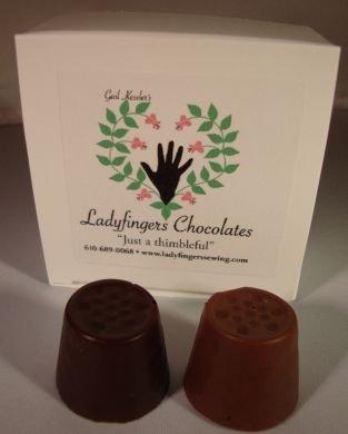 Chocolate Thimbles- Dark