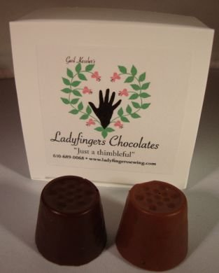 Chocolate Thimbles- Milk
